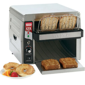 Waring Cts1000 Commercial Conveyor Type Electric Toaster 120v New