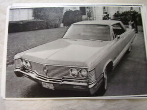 1968 Chrysler Imperial 11 X 17 Photo Picture