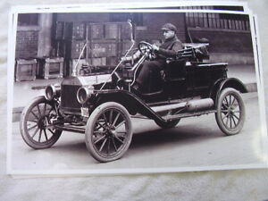 191 Ford Model T Roadster Pickup Truck 11 X 17 Photo Picture