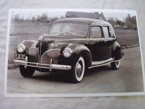1941 Lincoln Formal Sedan 11 X 17 Photo Picture
