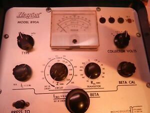 Hickok Transistor Tester Model 890a In circuit Dynamic beta