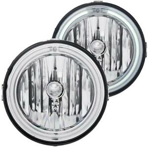 Anzo Euro Fog Lights Clear W Halo ccfl For 2005 2009 Ford Mustang