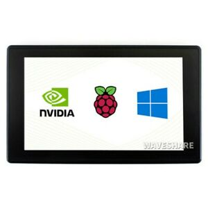 7inch Hdmi Lcd Display 1024x600 Ips Capacitive Touch Screen Support Multi System
