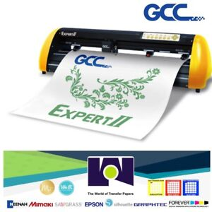Gcc Expert Ii 24 Vinyl Cutter For Sign And Htv 24 61 Cms free Shipping