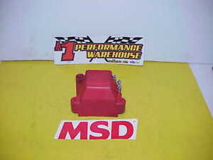 Msd Ignition 8142 Pro Mag 44 Amp Magneto Coil From A Nhra Top Fuel Dragster Jr1