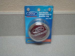 Ford Performance Racing Logo Chrome Oil Filler Cap Proform 302 215 1 1 4 Hole