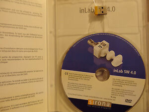 Sirona Cerec Inlab Software V4 0 Dongle Softguard Drive In Lab
