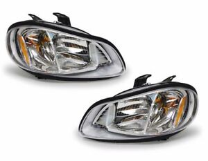 Thomas C2 School Bus 2008 2009 2010 2011 Headlights Head Lights Front Lamps Pair
