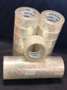 36 Rolls Packing Tape 2ml 2 X 100 Yards Clear Best Quality