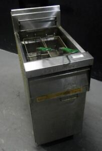 Frymaster Gas Deep Fryer Commercial Stainless Steel used