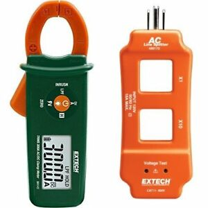 Extech Ma145 True Rms 300a Ac dc Clamp Meter With Ac Line Splitter