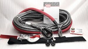 Warn 96040 Spydura Pro Synthetic Rope 100 X 3 8 For Winches Up To 16 500 Lbs