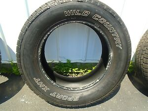 Wild Country Sport Xht Single Tire 235 65r17 nice