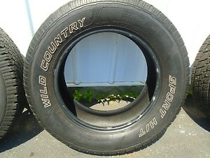 Wild Country Sport Xht Single Tire 235 65r17
