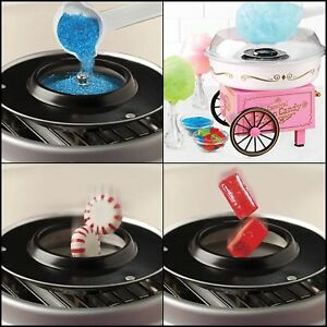 Commercial Electrics Cotton Candy Machine Maker Kids Party Carnival Sugar Free