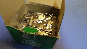 250 250 Hillman M 1 Key Blanks For Master Padlock Others New In Box