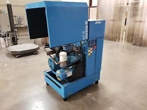 Used Boge 30 Hp Rotary Screw Air Compressor Low Hours