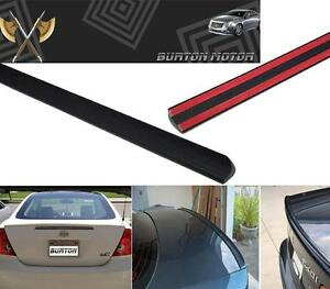 Fits 2001 2005 Honda Civic 2d Bmw M3 Style Trunk Lip Spoiler 02 03 04