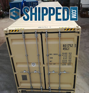 On Sale Now 40ft New One Trip High Cube Steel Shipping Container In Houston Tx