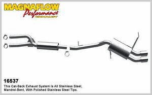 Magnaflow 16537 Cat back Exhaust System For 2006 2011 Bmw 328i Xdrive 325i 3 0l
