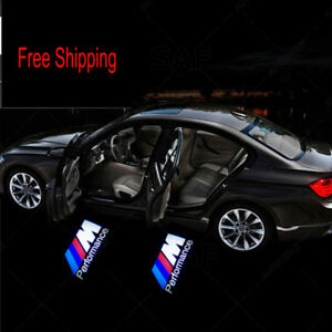 Bmw Door Projector M Performance Car Logo Led Light Step Lamp Welcome Lasers 2x