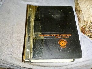 Gardner Denver Pump Reference Parts Service Book