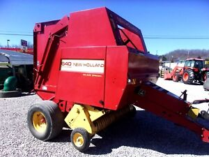 New Holland 640 Round Baler estate Size 4 X 5 Can Ship 1 85 Loaded Mile