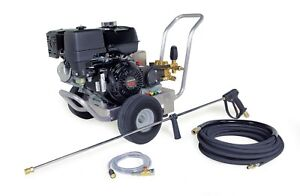 Hotsy Cold Water Pressure Washer 4000 Psi 4 0 Gpm Gas Engine Direct Drive