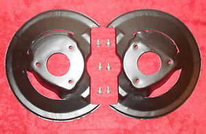 1968 1969 1970 Mustang Gt Shelby Mach 1 Cougar Xr7 Orig Disc Brake Rotor Shields
