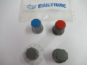 Multivac Knobs For Rotary Switch And Rotary Potentiometer New Old Stock