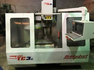 Bridgeport Torq cut Tc3g Vertical Cnc Mill Milling Machine