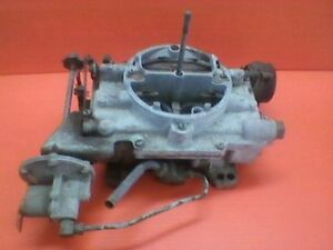 1962 Cadillac Carburetor With Air Conditioning Idle Speed Up Adjuster