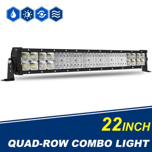 Led Light Bar Autofeel 22inch 2176w Five Row Driving Lights Spot Flood Combo 20