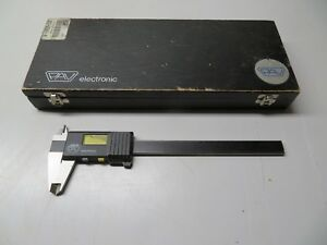 Spi Pav Digital Caliper 6 30 236 4 Made In Switzerland
