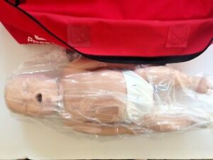 Prestan Infant Cpr Training Mannequins Set Of 4 Carry Case Full Body And Monitor