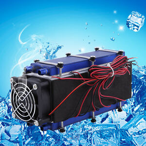 12v 576w 8 chip Tec1 12706 Thermoelectric Cooler Radiator Air Cooling Device Gd