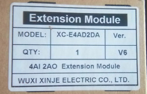 1pc New Xinje Xc e4ad2da Expansion Module