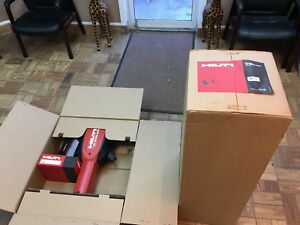 Hilti Te 3000 avr Breaker Corded Jack Hammer Package W Cart Trolley
