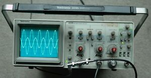 Tektronix 2235 100mhz Two Channel Oscilloscope Calibrated 2 Probes Sn B041263