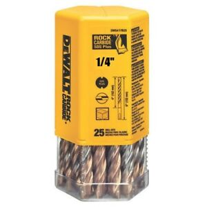 pack Of 25 Bits Dewalt Dw5417b25 1 4 X 6 Masonry Drill Bit Sds Plus