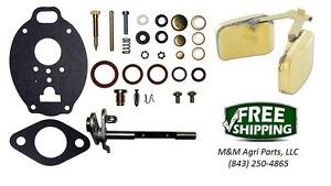 Carburetor Kit Float Minneapolis Moline 445 Big Mo 400 500 600 4 Star U302