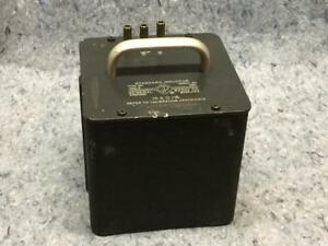 General Radio Co Standard Inductor Type 1482 p Serial No 5817 1h 01