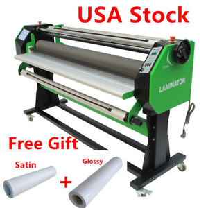110v 67 Stand Frame Full auto Single Side Wide Format Hot cold Laminator gifts