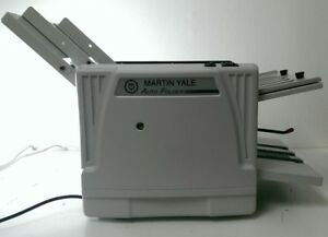 Martin Yale 1217a Automatic Paper Folding Machine Pictured As Is Tested