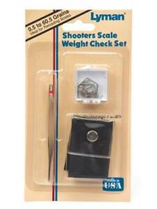 Lyman Shooter's Scale Weight Check Set Md: 7752314