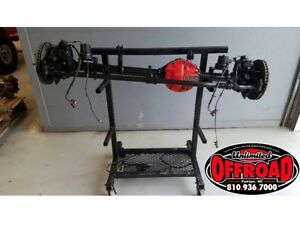 Jeep Jk Wrangler Front Dana 30 3 21 Complete Axle Assembly Arb Diff Cover 07 18