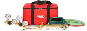 Lincoln Electric Oxygen Welding Cutting And Brazing Kit