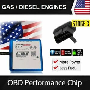 Fits 2013 Chevy Colorado Stage 3 St7 Performance Chip Power Tuner Ecu Programmer