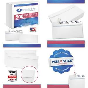 Security Envelopes Self Seal Windowless 500 Count Business Personal Letters