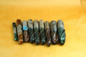 Free Ship Lot Of 9 Nine 5 8 1 1 4 Dia 2 Flute Ball End End Mills